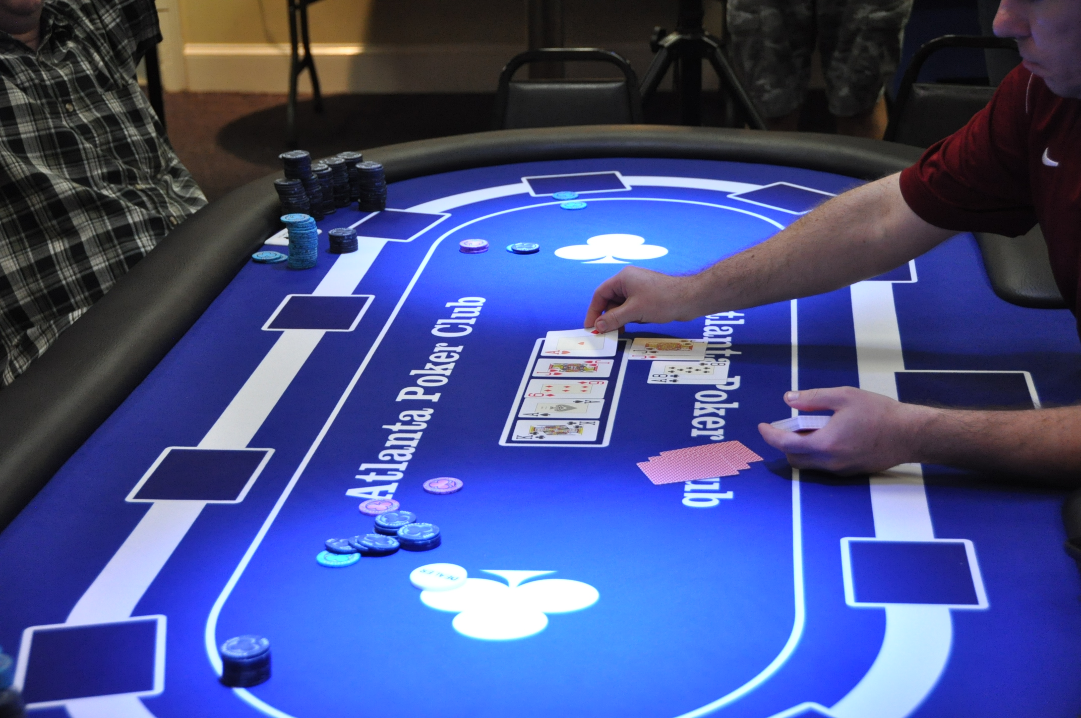 Play on the APC TV Table at the Main Event