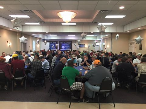 First Day $10,000 Main Event Killian Hill Event Hall