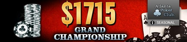 APC $1715 Grand Championship