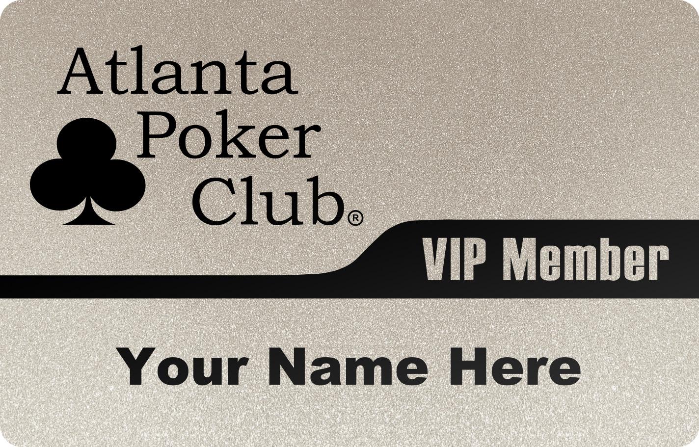 Silver Vip Memberships On Sale Atlanta Poker Club