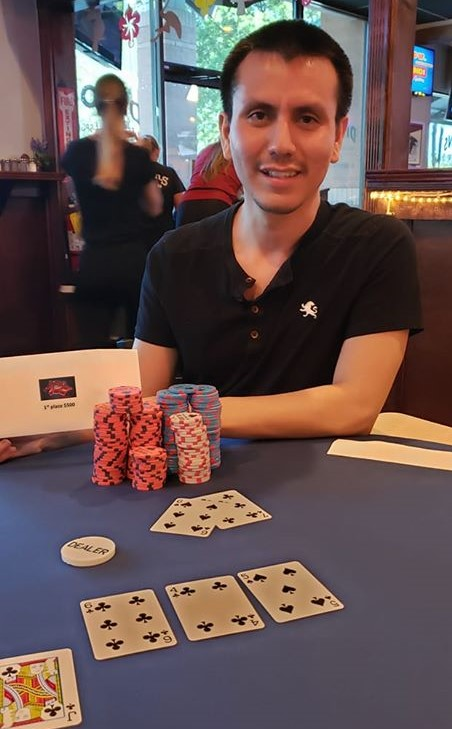 Alonso Lopez wins $777 March & June Monthly