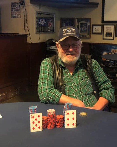 Terry Cummings             wins $777 February Monthly 2021
