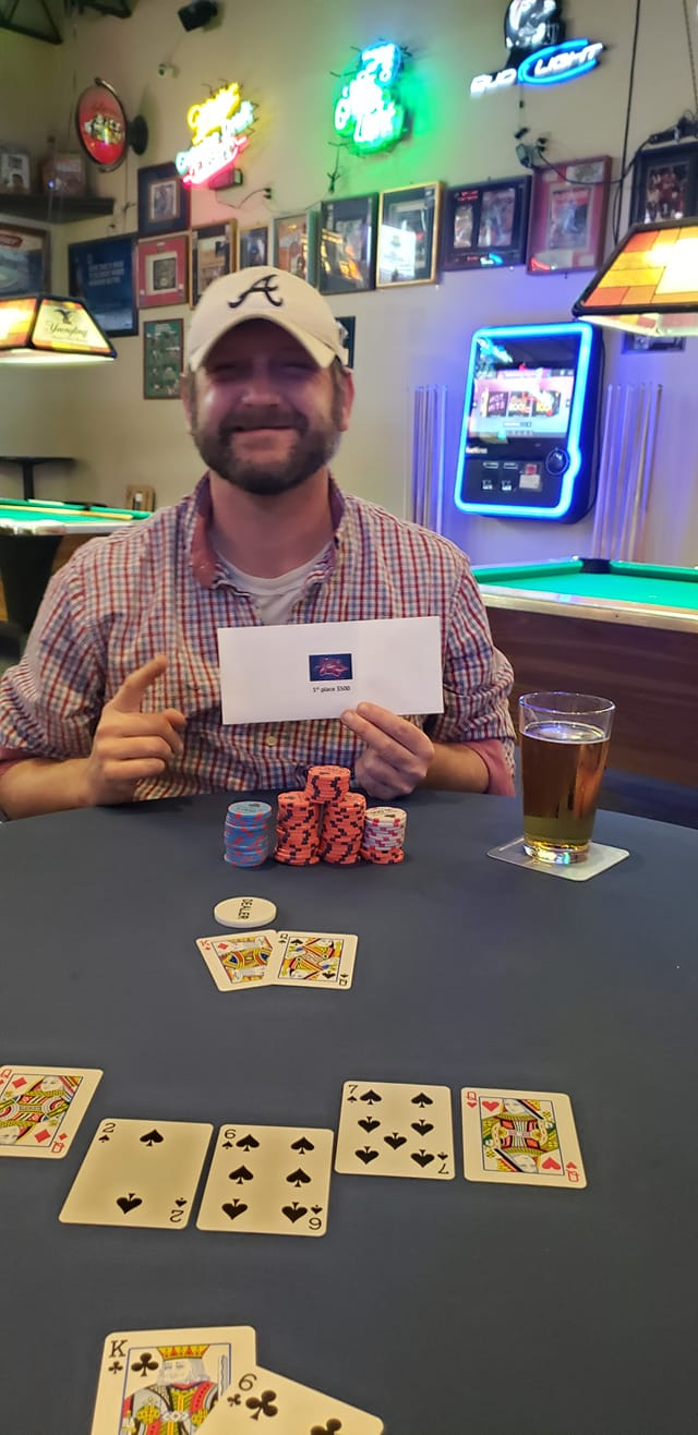 Jason Vantroost wins $777 April Monthly 2021